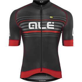 Alé Cycling Graphics PRR Salita Kortærmet cykeltrøje Herrer rød/sort